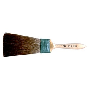 Mack Squirrel Hair Moulding Series 45: #6, 19.05 mm Head Width