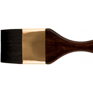 Princeton™ Best Neptune™ Synthetic Squirrel Watercolor Brush Mottler 1; Grade: Best; Length: Short Handle; Material: Synthetic; Shape: Mottler; Type: Watercolor; (model 4750M-100), price per each