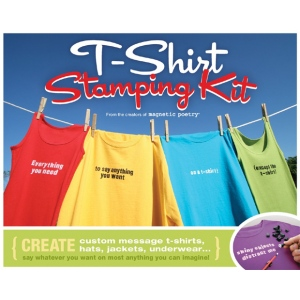 Magnetic Poetry® T-Shirt Stamping Kit; Mounted: Yes; (model MAG6102), price per kit