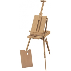 Heritage Arts™ de Leon Classic French Wooden Easel; Material: Wood; Type: Artist; (model HWE208), price per each