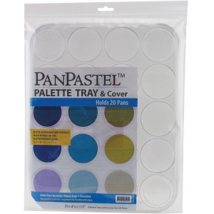 PanPastel® Empty Palette 20-color Tray: Colorless, Storage Box, (model PP35020), price per each