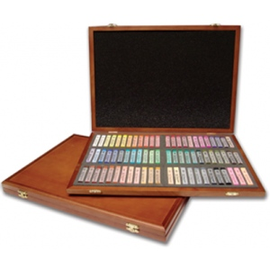 Gallery Artist Soft Pastel: Set of 72 pcs, Model # MPV-72W