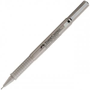 Faber-Castell Ecco Pigment Fibre-tip Pen, Black: 0.8 mm