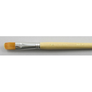Synthetic Hair 3103: Filbert Size 18 Brush