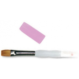 Royal & Langnickel® Soft Grip™ Combination Natural/Synthetic Bright Brush 6; Material: Natural Hair, Synthetic; Shape: Bright; Size: 6; Type: Acrylic, Oil, Watercolor; (model RSG3010-6), price per each