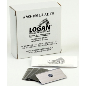 Logan 268-100 Blades: Fits 650, 655 and 660, Pack of 100