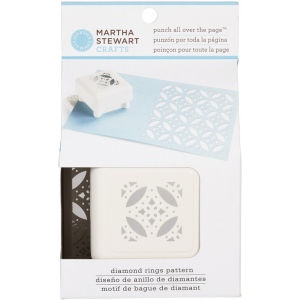 Martha Stewart Crafts™ Pattern Punch All Over The Page™ Magnetic Punch Diamond Rings; Type: Pattern; (model 42-91007), price per each