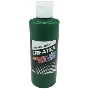 Createx™ Airbrush Paint 4oz Brite Green; Color: Green; Format: Bottle; Size: 4 oz; Type: Airbrush; (model 5109-04), price per each