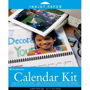 "Strathmore Inkjet Photo Calendar Kit: 8 1/2"" x 11"""