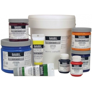 Liquitex® Professional Series Soft Body 8-Color Classic Set; Color: Multi; Format: Jar; Size: 59 ml; Type: Acrylic; (model 121804), price per set