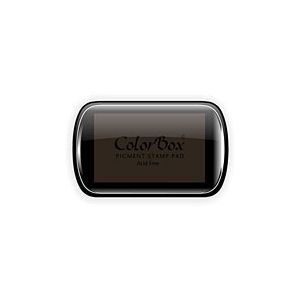 ColorBox® Full Size Ink Pad Chestnut; Color: Brown; Format: Pad; Ink Type: Pigment; Shape: Full Size Rectangle; (model CS15165), price per each