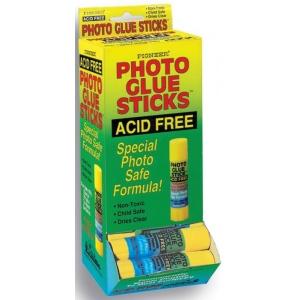 Pioneer®  Photo Glue Stick™ Photo Glue Stick: Permanent, (model PGSD), price per each