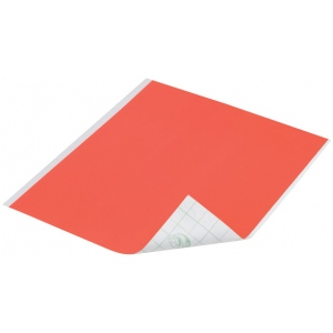 "Duck Tape® Neon Orange Tape (Sheet); Color: Orange; Format: Sheet; Size: 8 1/4"" x 10""; Type: Color; (model DT280085), price per sheet"