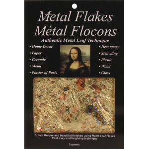 Mona Lisa™ Metal Flakes™ Variegated; Color: Metallic; Size: 3 g; (model ML10012), price per each