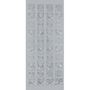 "Blue Hills Studio™ DesignLines™ Outline Stickers Silver #22; Color: Metallic; Size: 4"" x 9""; Type: Outline; (model BHS-DL022), price per pack"