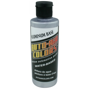 Auto-Air Colors™ Aluminum Fine Base Coat 4oz; Format: Bottle; Size: 4 oz; Texture: Fine; Type: Airbrush; (model 4101-04), price per each