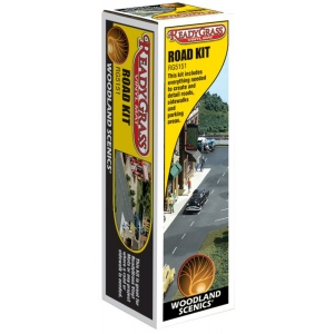 """Woodland Scenics® ReadyGrass™ Road Kit; Coverage: 3"""" x 4'; Type: Road; (model WSRG5151), price per each"""
