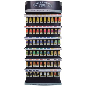 Winsor & Newton Galeria Acrylic Paint Display: 60ml Assortment