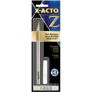 X-Acto® #1 Knife Carded; Type: Knife; (model XZ-3601), price per each