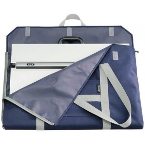 "Prestige™ PXB™ Series Soft-Sided Art Portfolio 23"" x 31""; Color: Blue; Gusset Size: 1 1/2""; Material: Nylon; Size: 23"" x 31""; (model SPX2331), price per each"