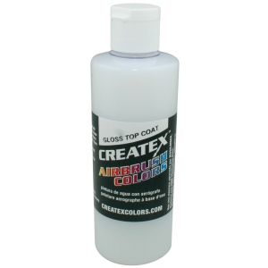 Createx™ Airbrush Top Coat Gloss 4oz; Format: Bottle; Size: 4 oz; Type: Airbrush; (model 5604-04), price per each