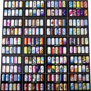 Airbrush Nail Stencils (200 Designs) SN-10 by Paasche