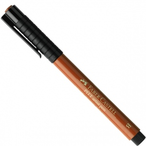 Faber-Castell PITT Artist Pen: Superfine, Sanguine