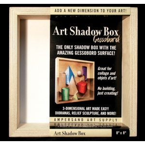 "Ampersand Art Shadow Box: 6"" x 6"", Case of 6"