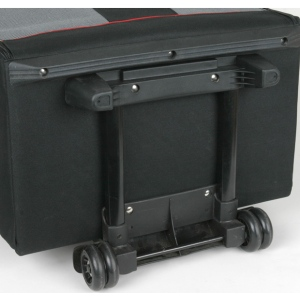 ArtBin Tote Express Tic with Red Piping: Black & White