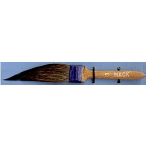 Mack Original Sword Striping Brush Series 10: #3, 12.70 mm Head Width