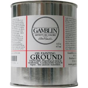 Gamblin Ground 16oz: 16 oz, Ground, (model G01116), price per each
