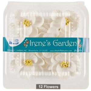 "Blue Hills Studio™ Irene's Garden™ Box O'Magnolias White: White/Ivory, Paper, 1 1/4"" - 1 1/2"", Dimensional, (model BHS107530), price per box"