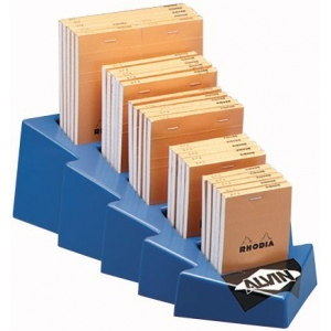 Rhodia Sketch/Memo Pad Display; Format: Pad; Grid Size/Pattern: Various; Gridded: Yes; Lead Color: Orange; Quantity: 80 Sheets; Size: Multi; (model RA12D), price per each