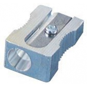 Kum® Magnesium Wedge Sharpener: Blue, White/Ivory, One, Plastic, 24-Box, Manual, (model 401KM), price per 24-Box box
