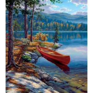 "Reeves™ Medium Painting By Numbers Time Well Spent: 9"" x 12"", (model PBNACM4), price per each"
