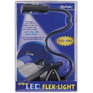 Ultraoptix® LED Flex-Light: Black/Gray, Handheld, (model EZFLEX), price per each