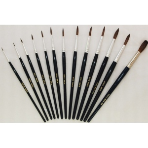 Mack Camel Hair Watercolor Brushes Series 970: Size-0