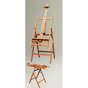 Weber Pompei Wooden Studio Easel: Model # 92-3020