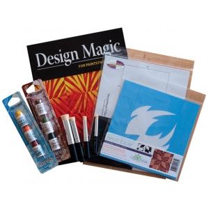"Cedar Canyon Textiles DesignMagic™ Stencil Sampler: Blue, 7"" x 7"", Patterned Stencil, (model CCT402K), price per set"