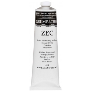 Grumbacher® Zec Painting Medium; Format: Tube; Size: 150 ml; Type: Oil; (model GB411), price per each