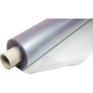 "Alvin® VYCO Translucent Green/Cream Board Cover 42"" x 10yd; Color: Clear, White/Ivory; Format: Roll; Material: Vinyl; Size: 42"" x 10 yd; (model VBC55/42), price per roll"