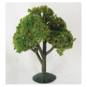 "Wee Scapes™ Architectural Model Apple Trees 3-Pack : Green, Wire, 3-Pack, 2 1/4"" - 2 1/2"", Tree, (model WS00326), price per 3-Pack"