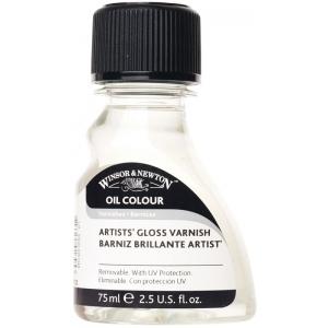 Winsor & Newton™ Artists' Gloss Varnish 75ml ; Finish: Gloss; Size: 75 ml; Type: Varnish; (model 3221732), price per each