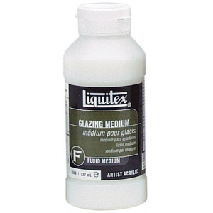 Liquitex® Glazing Medium 8oz: 8 oz, Acrylic Glaze, (model 7508), price per each