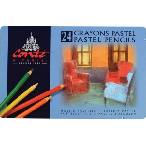 Conte™ Pastel Pencil 24-Color Set; Color: Multi; Format: Pencil; (model C2182), price per set