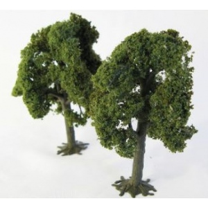"Wee Scapes™ Architectural Model Deciduous Trees 3-Pack; Color: Multi; Material: Wire; Quantity: 3-Pack; Size: 3 1/4"" - 3 1/2""; Type: Tree; (model WS00322), price per 3-Pack"