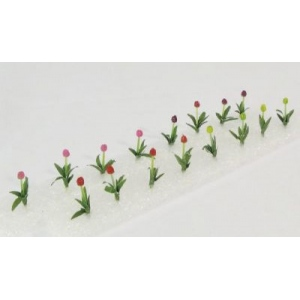 "Wee Scapes Architectural Model Tulip: 1/2"", 150 Sq. In, Pack of 16"