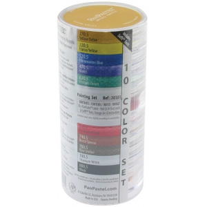 PanPastel® Ultra Soft Painting Pastels 10-Color Set; Color: Multi; Format: Pan; Type: Ultra Soft; (model PP30101), price per set