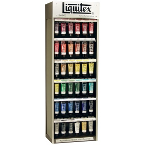 Liquitex® Basics Acrylic Color Assortment; Color: Multi; Format: Tube; Size: 4 oz; Type: Acrylic; (model 1010460), price per each