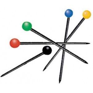 "Ball Pins: 1 1/4"", Pack of 100"